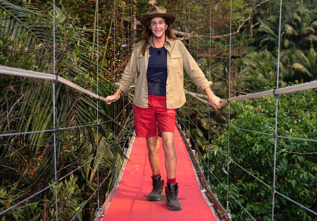Caitlyn Jenner is I'm a Celebrity Get Me Out of Here.