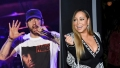 Side-by-Side Photos of Eminem and Mariah Carey