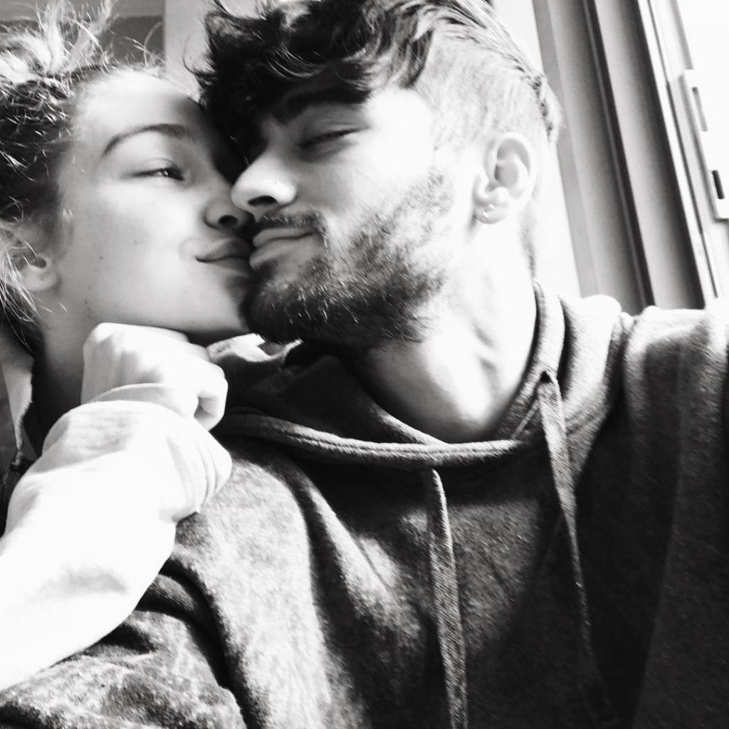 Gigi Hadid and Zayn Snuggling in a Photo