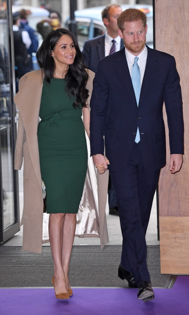 Prince Harry With Meghan Markle Holding Hands