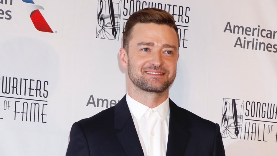 Justin Timberlake Wearing a Suit at an Event