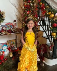 JWoww's Daughter Dresses Up for Christmas