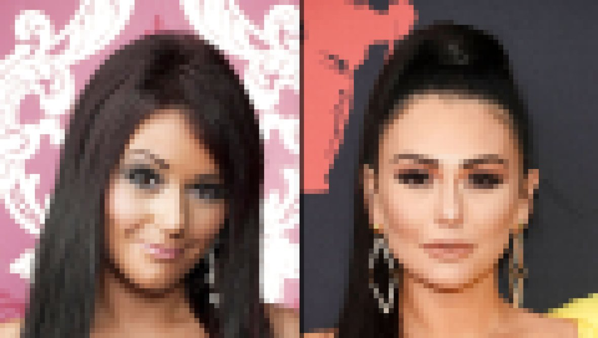 Jenni JWoww Farley Transformation