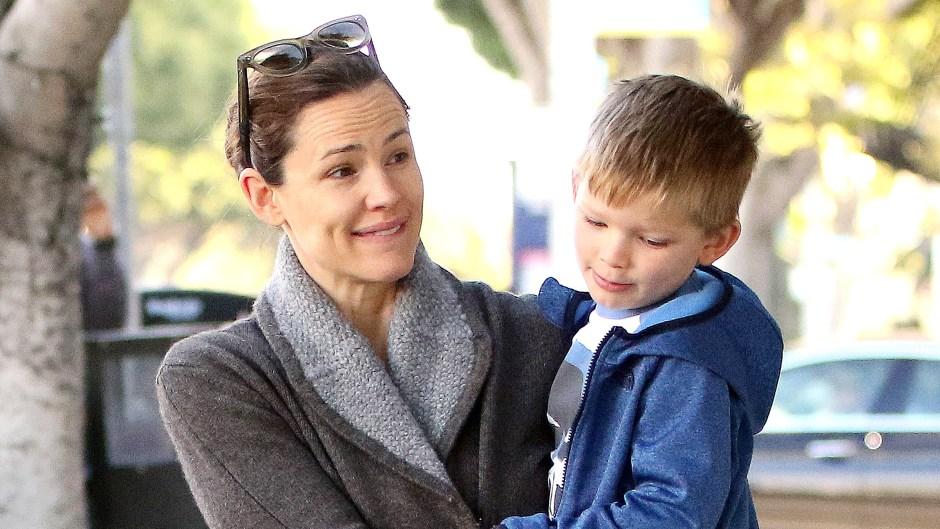 Jennifer Garner Carrying Son Samuel
