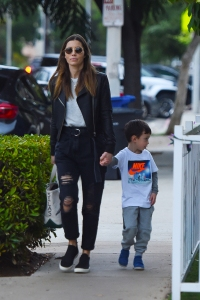 Jessica Biel Spotted Out With Son Silas Before Justin Timberlake's Public Apology