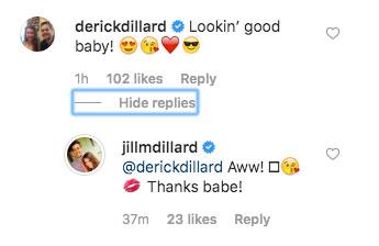 Jill Duggar and Derick Dillard Flirt in Instagram Comments