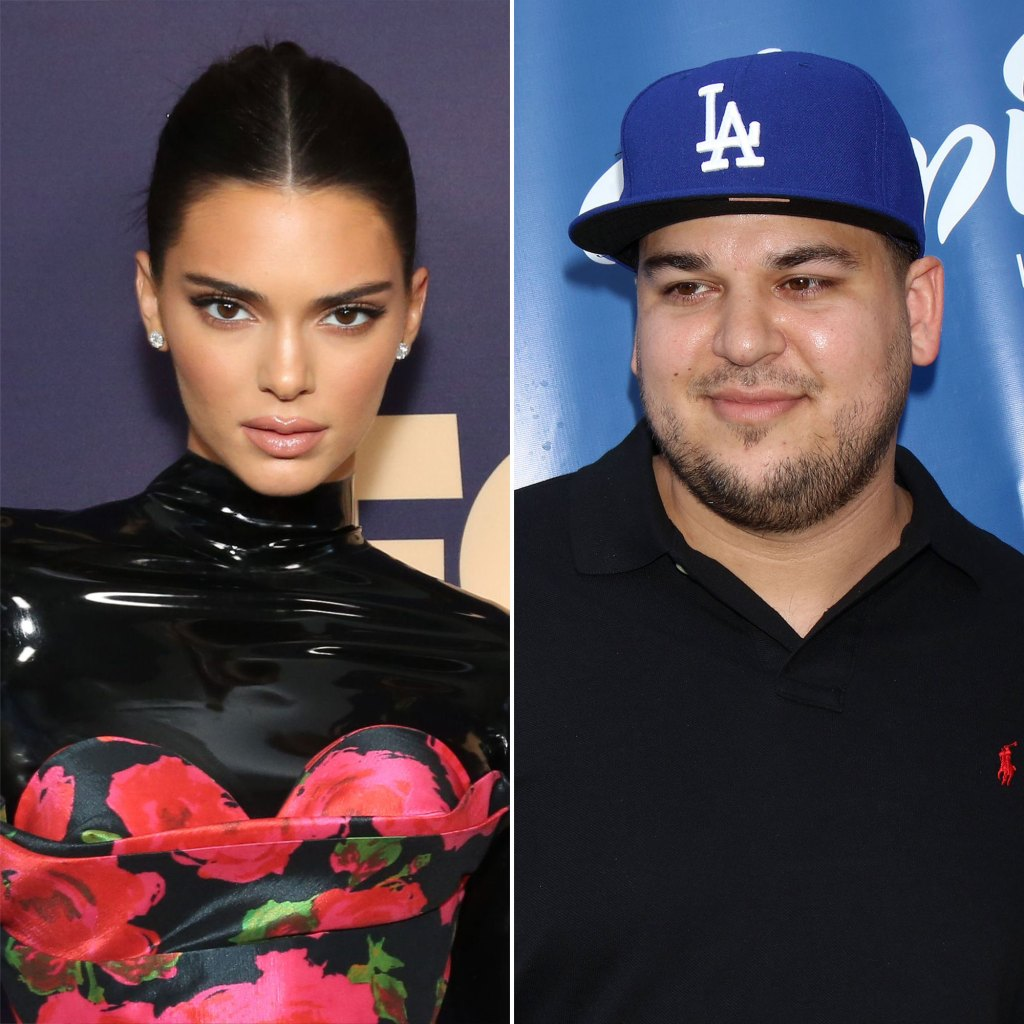Kendall Jenner, Robert Kardashian