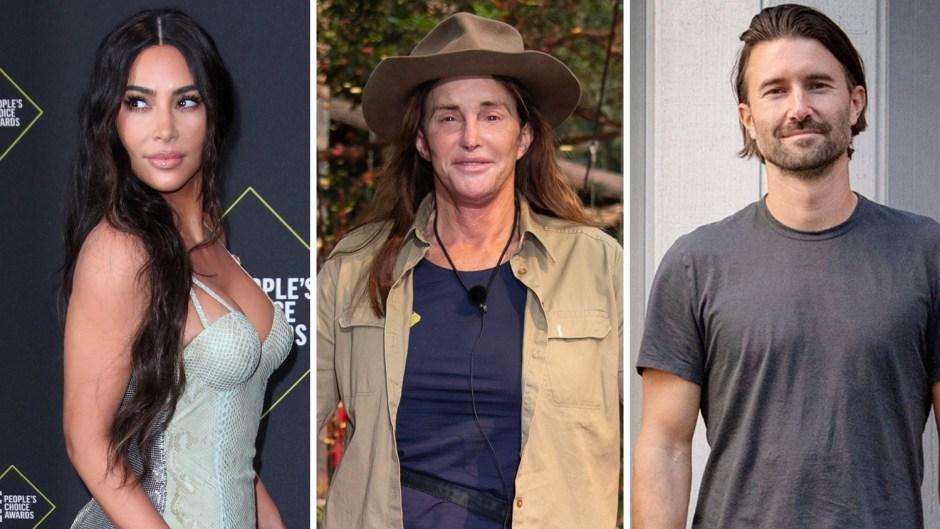 Kim Kardashian and Brandon Jenner Say I'm A Celebrity Didn't Reach Out