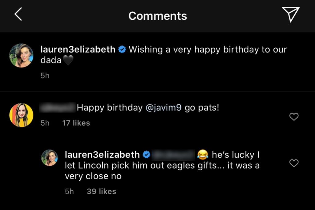 Lauren Comeau Wishes Javi Marroquin a Happy Birthday Post-Cheating Scandal