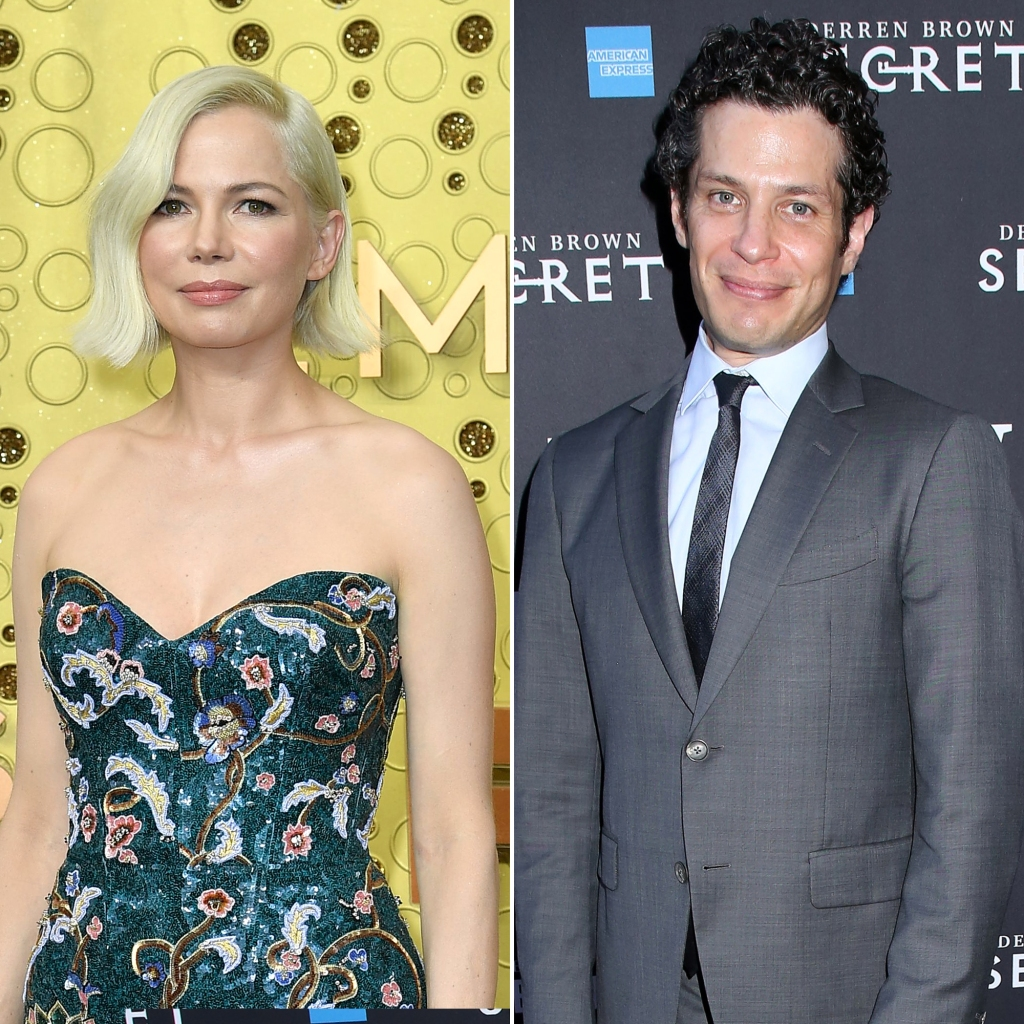 Michelle Williams and Thomas Kail Engagement and Pregnancy