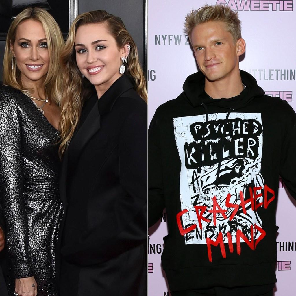 Miley Cyrus Dances in a Bra With Mom Tish Amid Cody Simpson Drama
