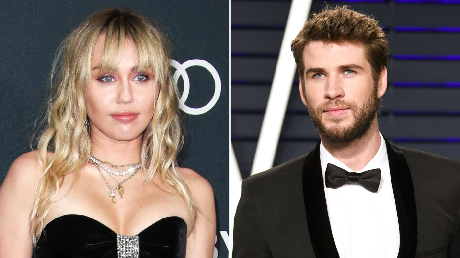 Miley Cyrus Liam See Each Other Court in 2020