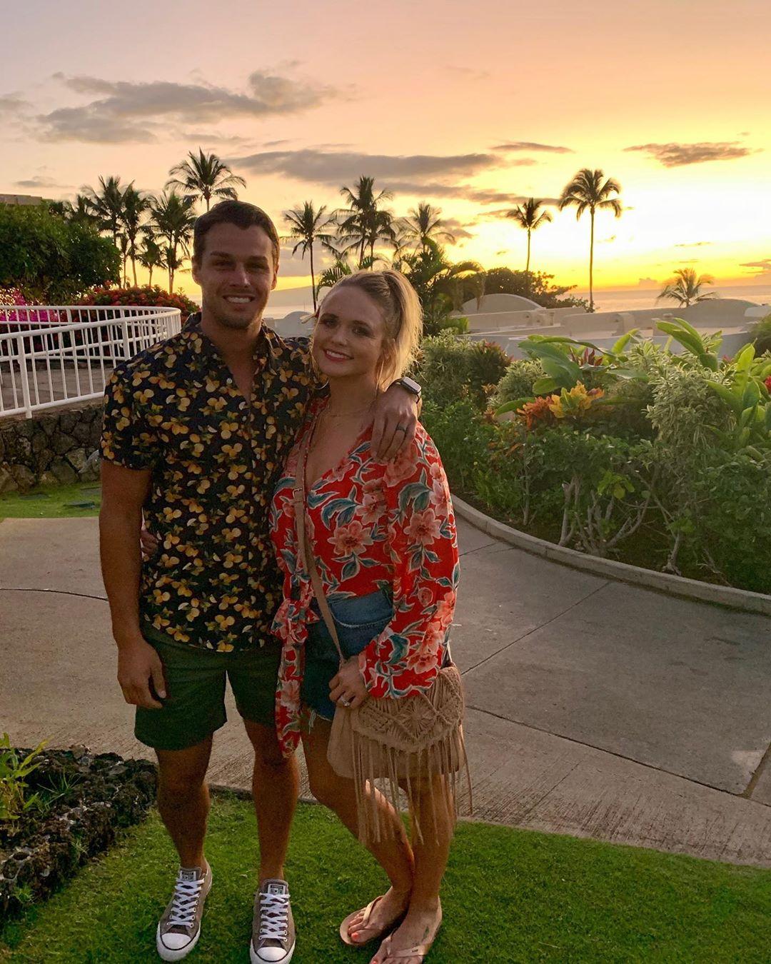 Miranda Lambert With Brendan McLoughlin in Hawaii