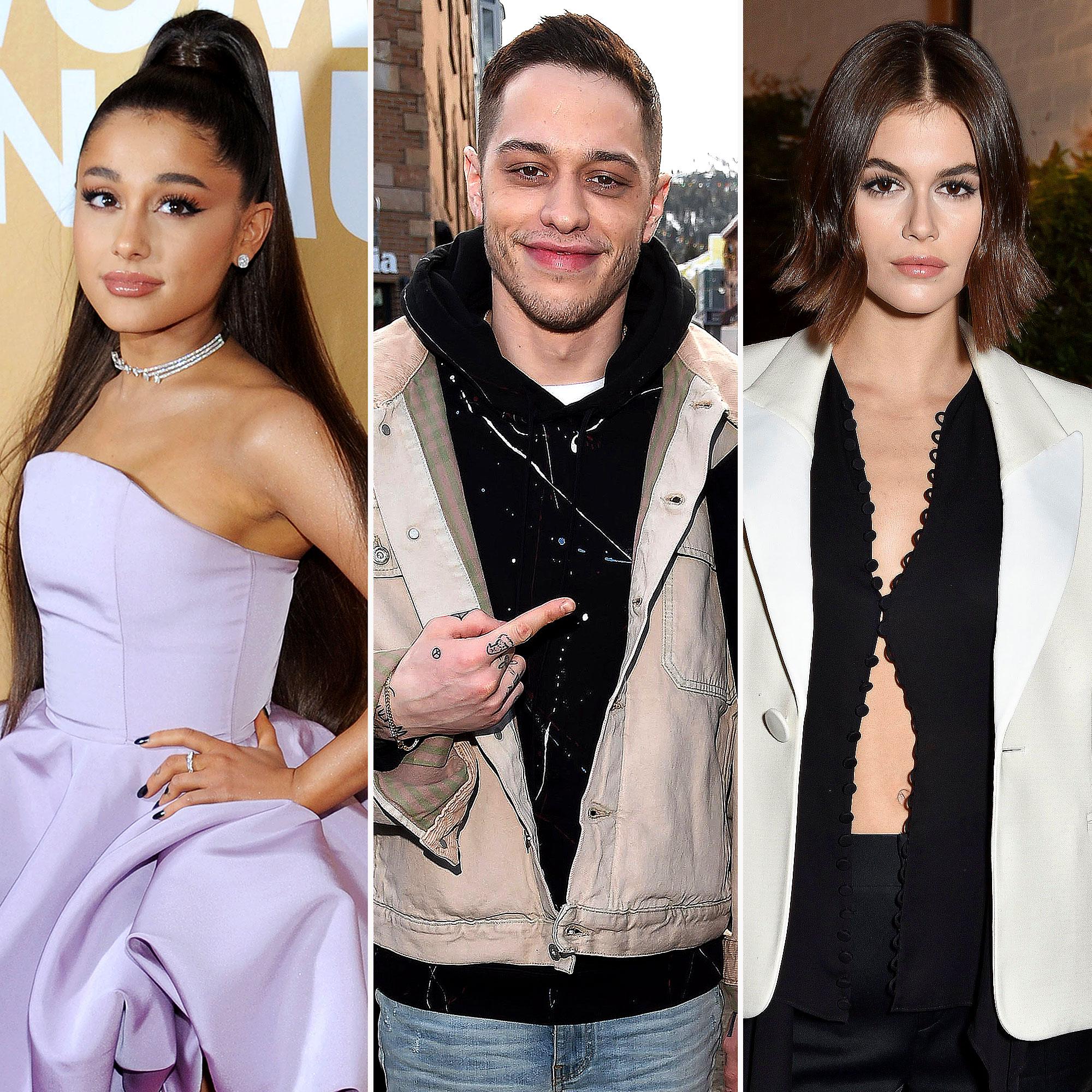 Pete Davidson S Relationship History Ariana Grande To Kaia Gerber