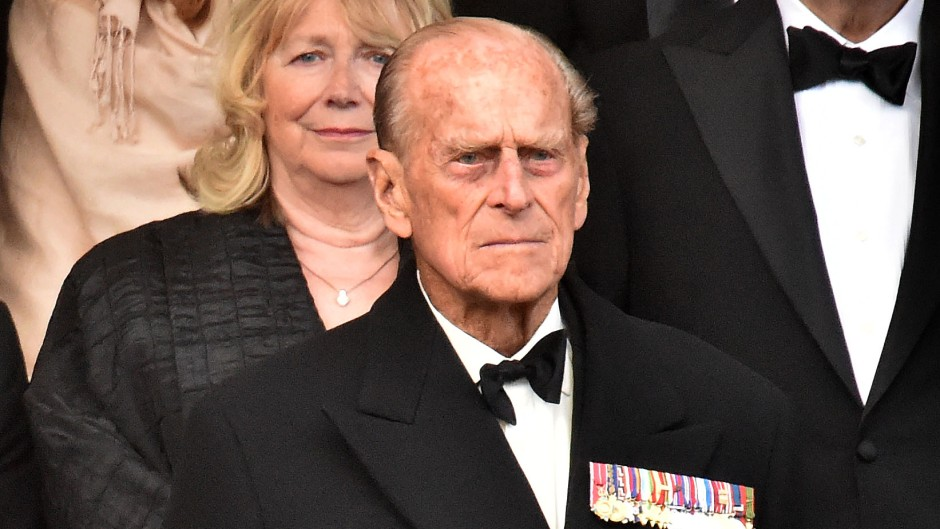Prince Philip Wearing all Black