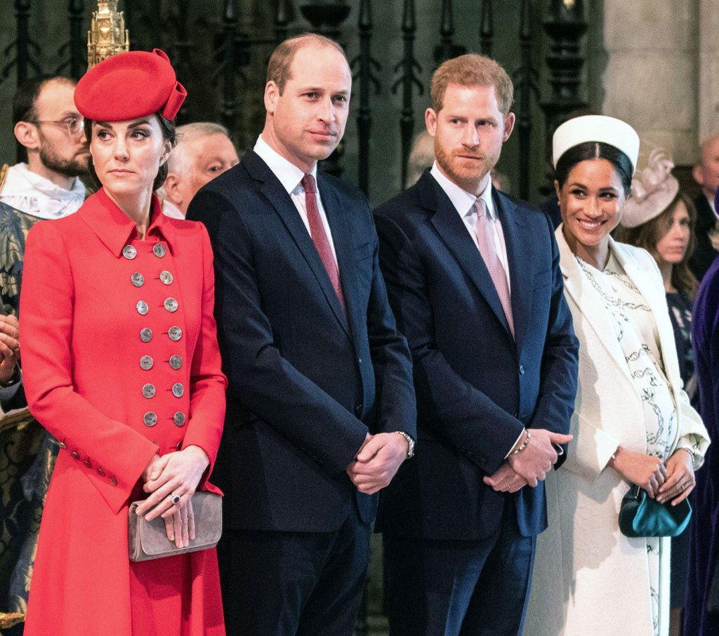 Prince William 'Secretly Relieved' Prince Harry and Duchess Meghan Won't Be Joining Christmas Festivities
