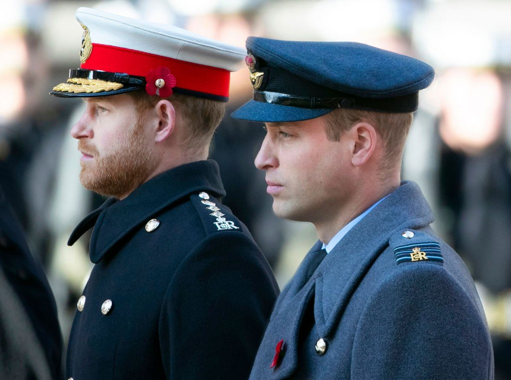 Prince Harry In Full Dress Standing Next to Prince Williamin Full Dress, Prince William 'Secretly Relieved' Prince Harry and Duchess Meghan Won't Be Joining Christmas Festivities