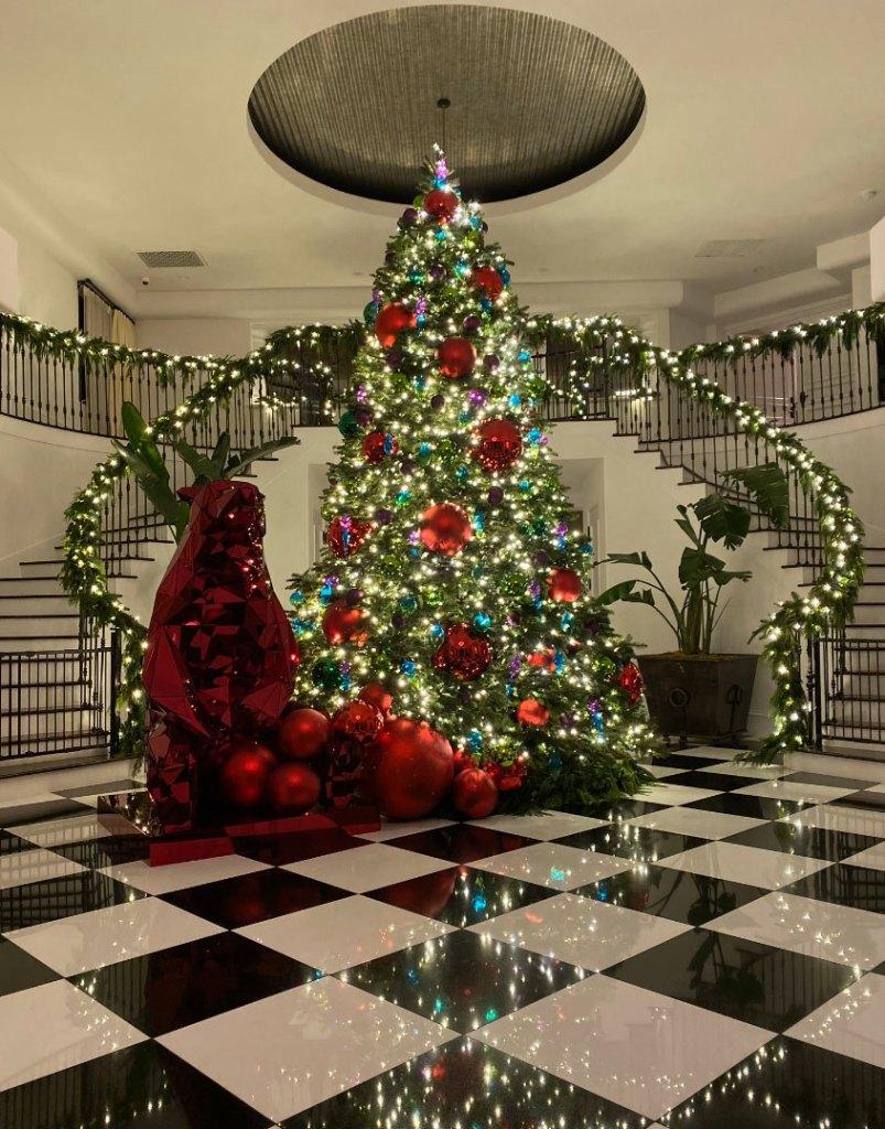 Robert Kardashian Family Christmas Tree 2019 Twitter Pic