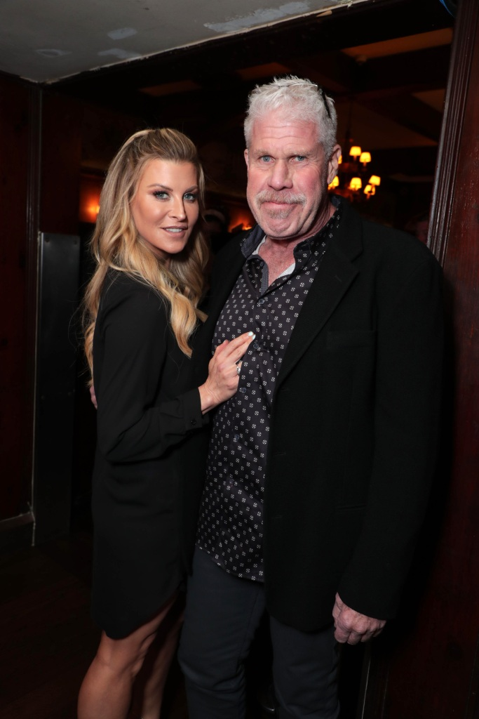Ron Perlman and Allison Dunbar Step Out for First Public Outing Since He Filed for Divorce