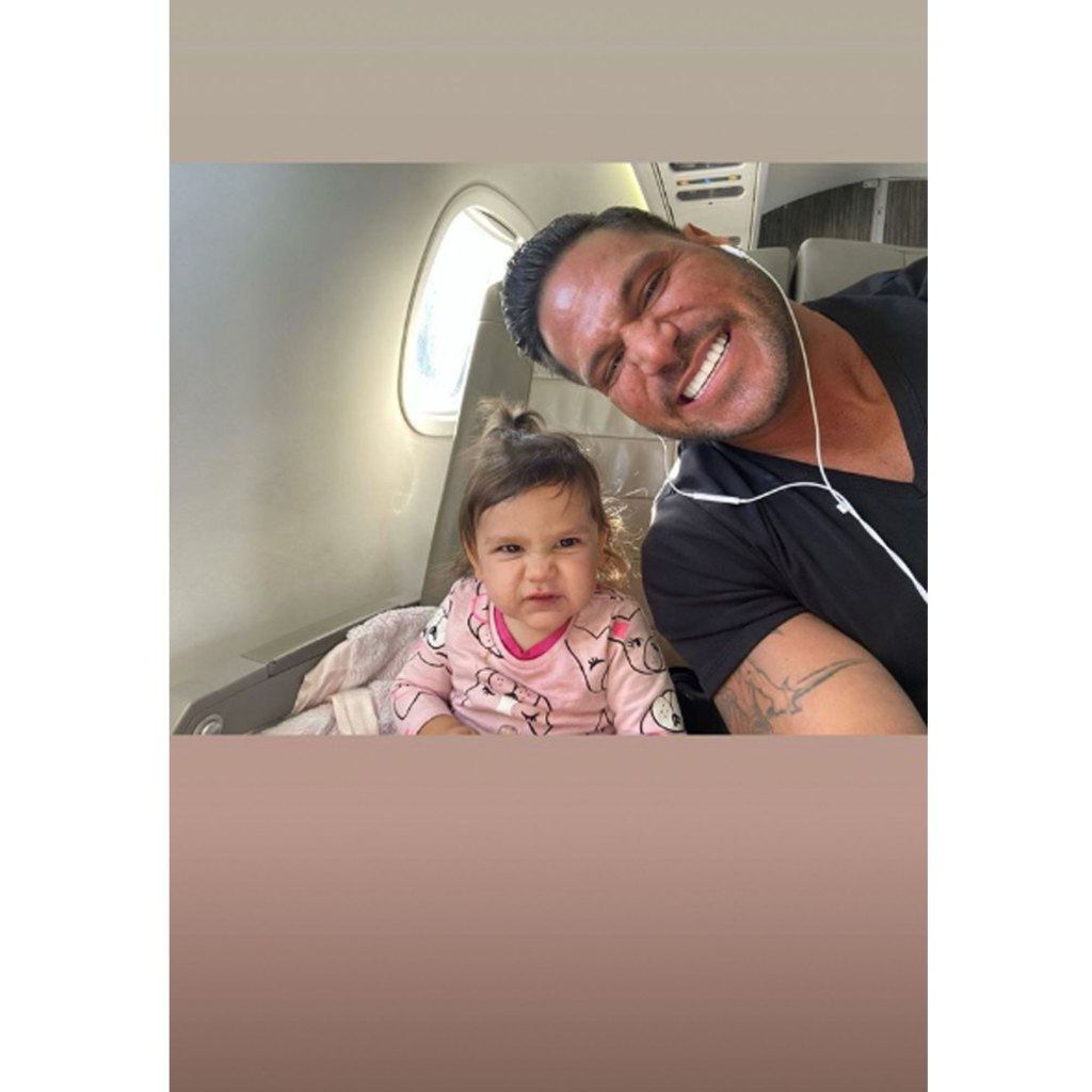 Ronnie Magro Missing Daughter Amid Restraining Order