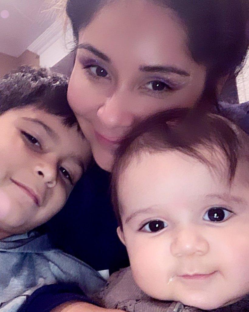 Nicole Snooki Polizzi With Her Children