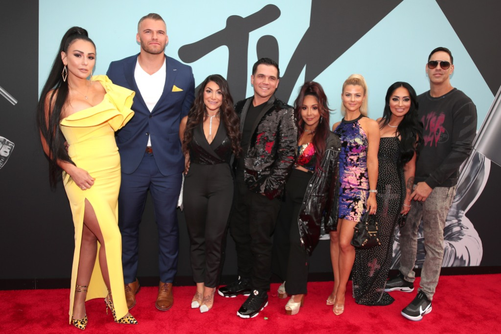 Jersey Shore Cast on the Red Carpet
