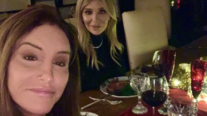 Sophia Hutchins with Caitlyn Jenner Instagram Christmas 2019