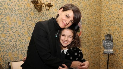 Katie Holmes Hugs Daughter Suri