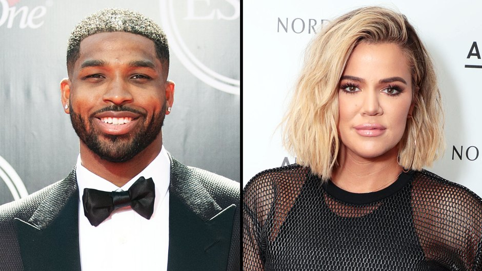 Tristan Thompson Comments on Khloe Kardashian's Pic With True