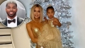 Tristan Thompson Gushes Over 'Amazing' Ex Khloé Kardashian and Daughter True in Christmas Photo