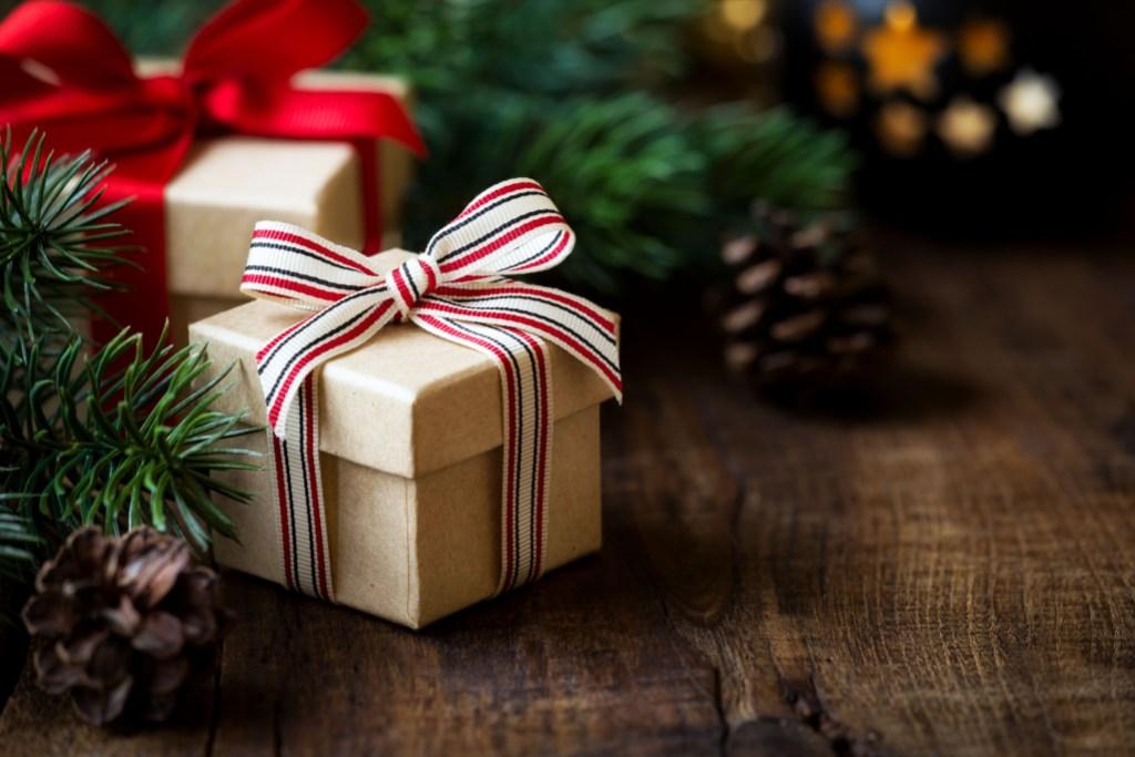 Christmas Present Under the Tree