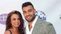 britney spears' boyfriend sam asghari defended her from social media trolls