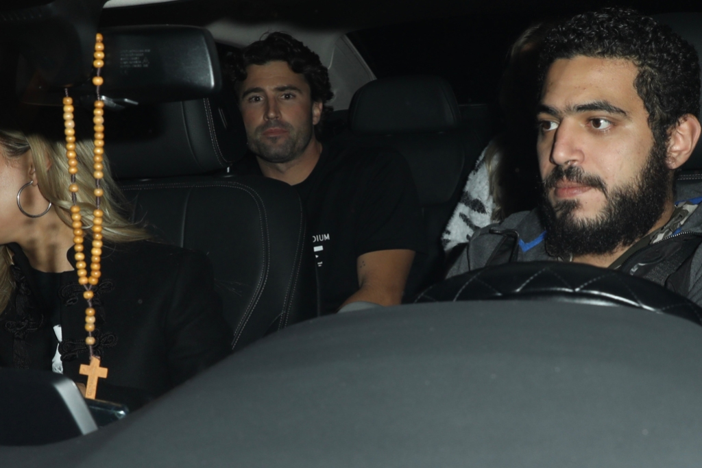 brody jenner and new girlfriend allison mason spotted out on dinner date night