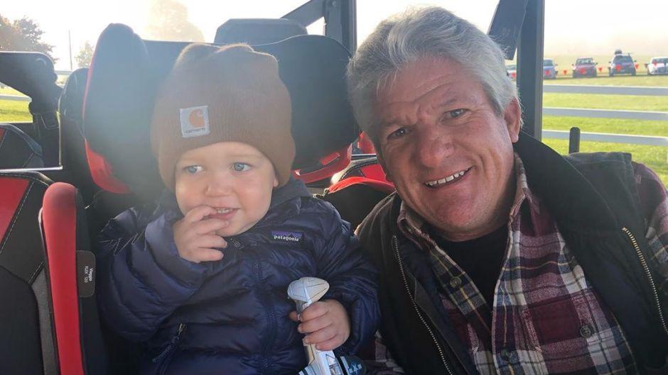 jackson and matt roloff sitting in a truck