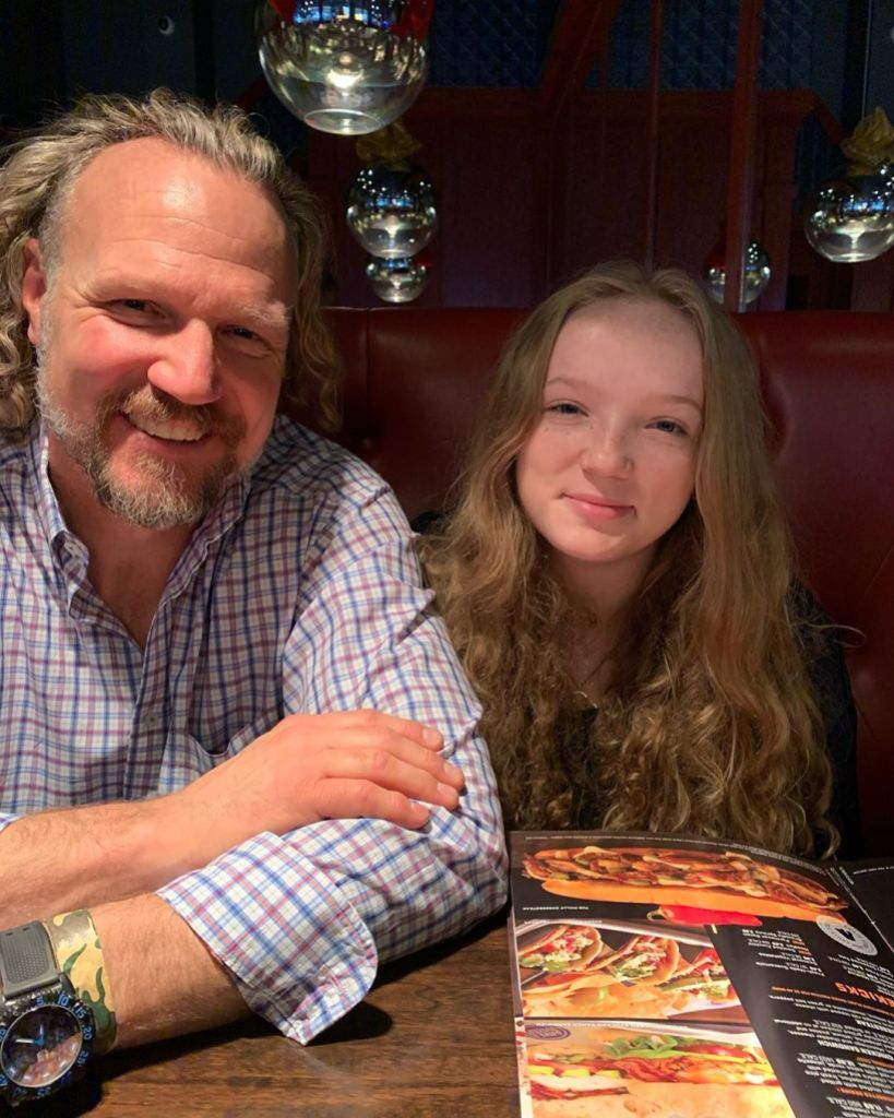 'Sister Wives' Star Kody Brown Poses for Rare Photo With Wife Janelle's Youngest Child