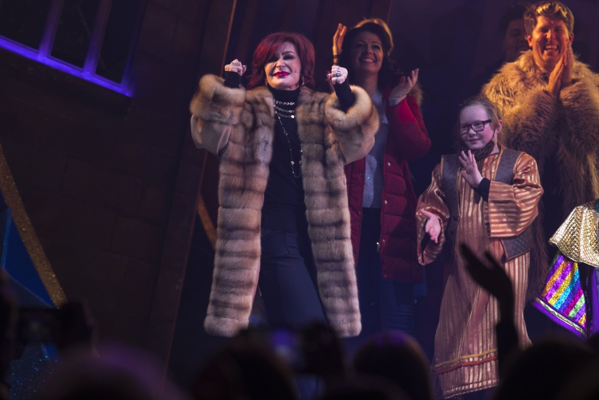 Dressed to Impress! Sharon and Kelly Osbourne Wow While Attending 'Nativity! The Musical' Party