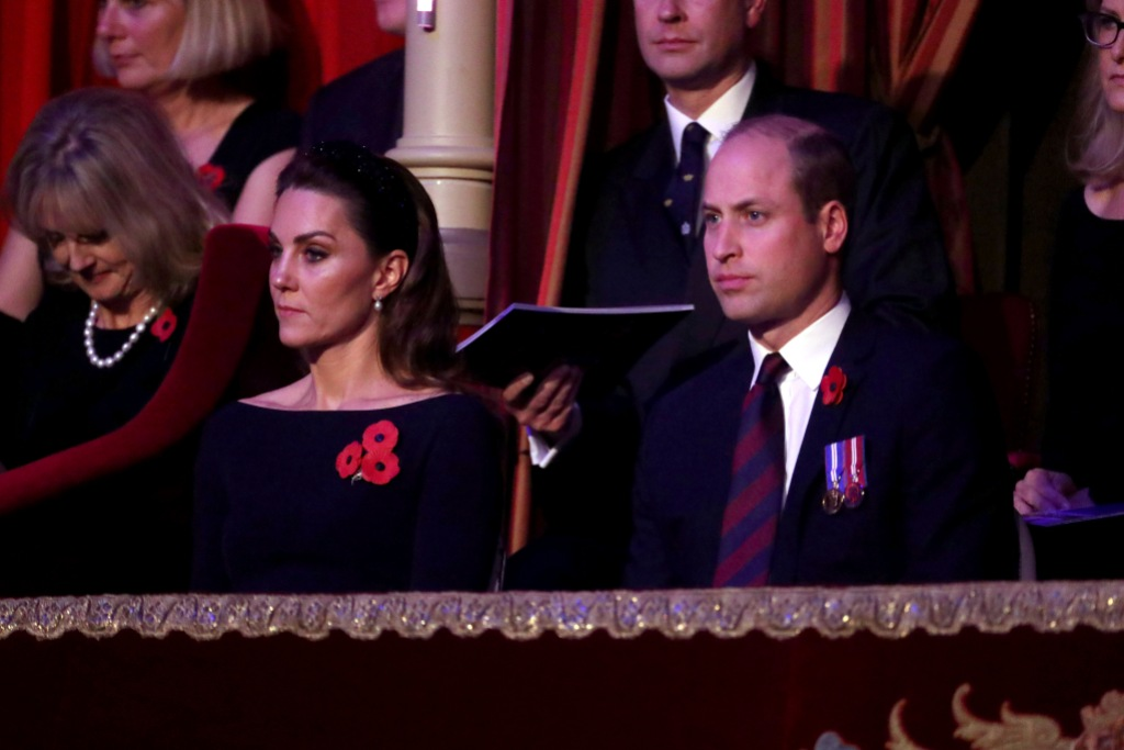 william and kate at the Royal British Legion Festival Of Remembrance.jpg