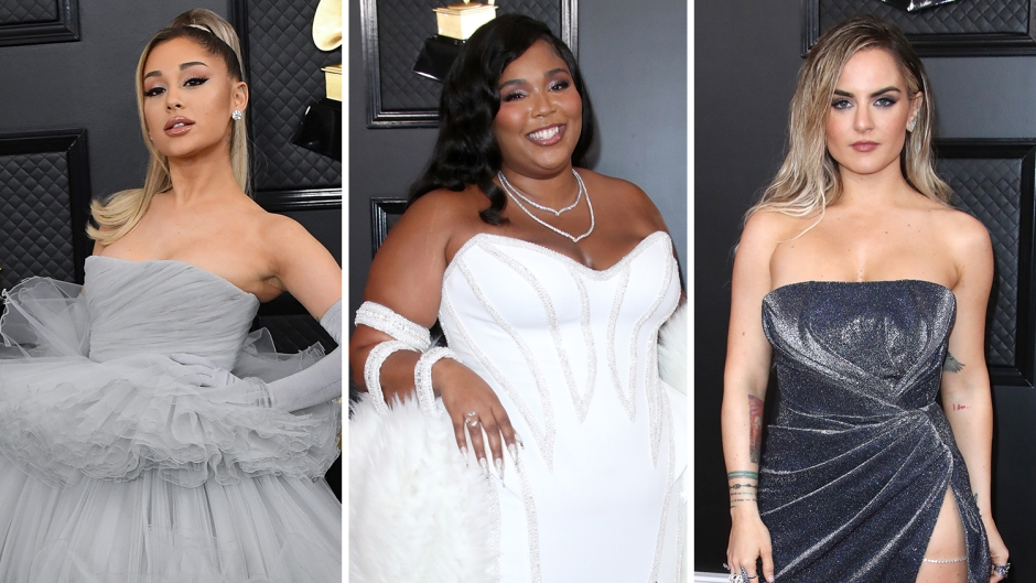 Ariana Grande, Lizzo, JoJo on 2020 Grammys Red Carpet