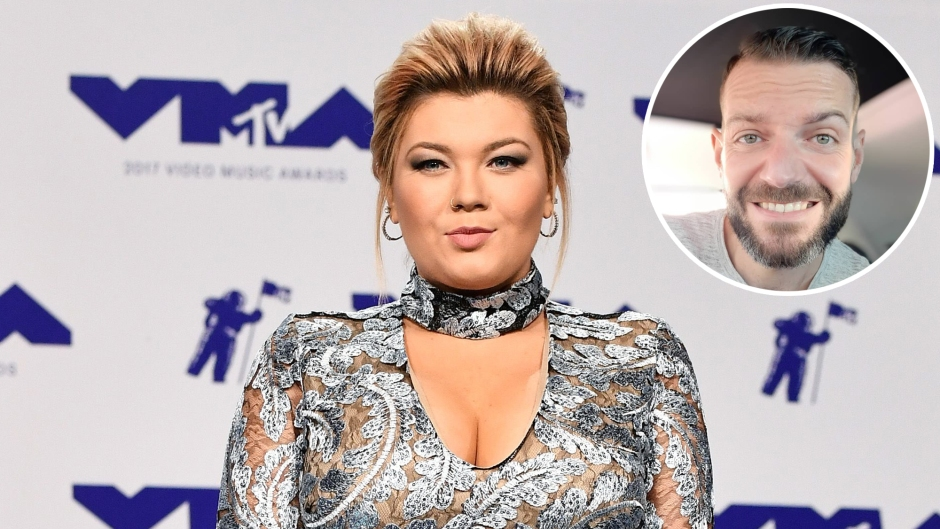 In-set Photo of Dimitri Garcia Over Photo of Amber Portwood