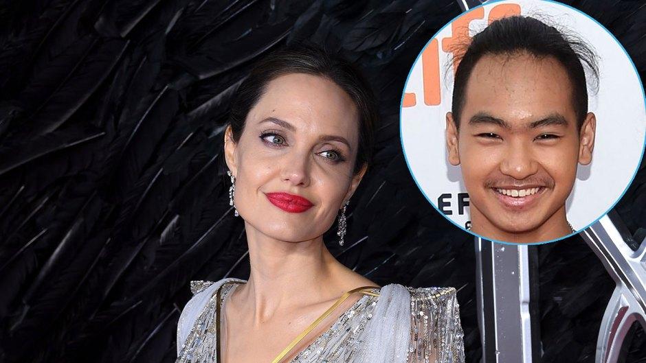Angelina Jolie and Maddox Jolie-Pitt Nickname