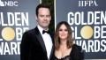 Bill Hader and Rachel Bilson on Golden Globes Red Carpet