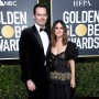 Bill Hader and Rachel Bilson on Golden Globes Red Carpet