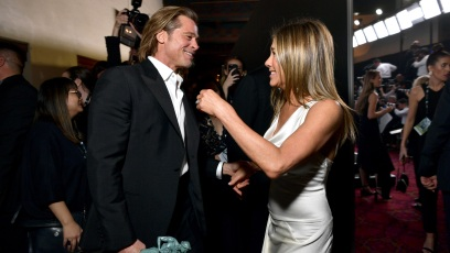 Brad Pitt, Jennifer Aniston 2020 SAG Awards