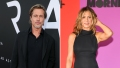 Side-by-Side Photos of Brad Pitt and Jennifer Aniston on Red Carpet