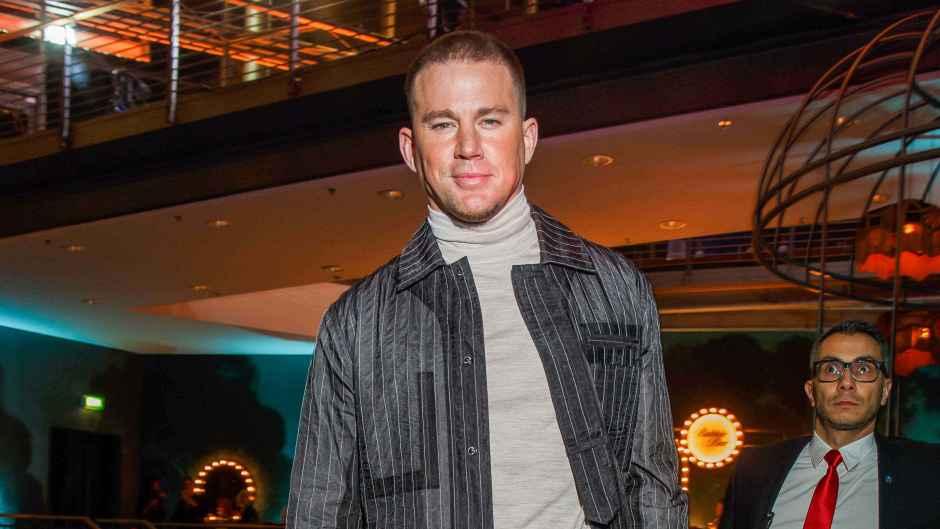 Channing Tatum at Magic Mike in Berlin
