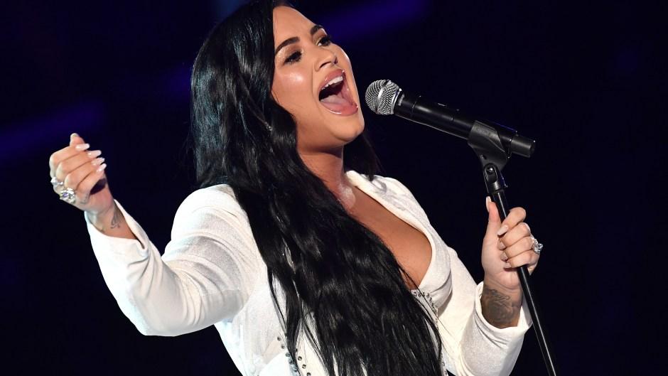 Demi Lovato's Grammys 2020 Dress: Star Looks Beautiful at Awards Show