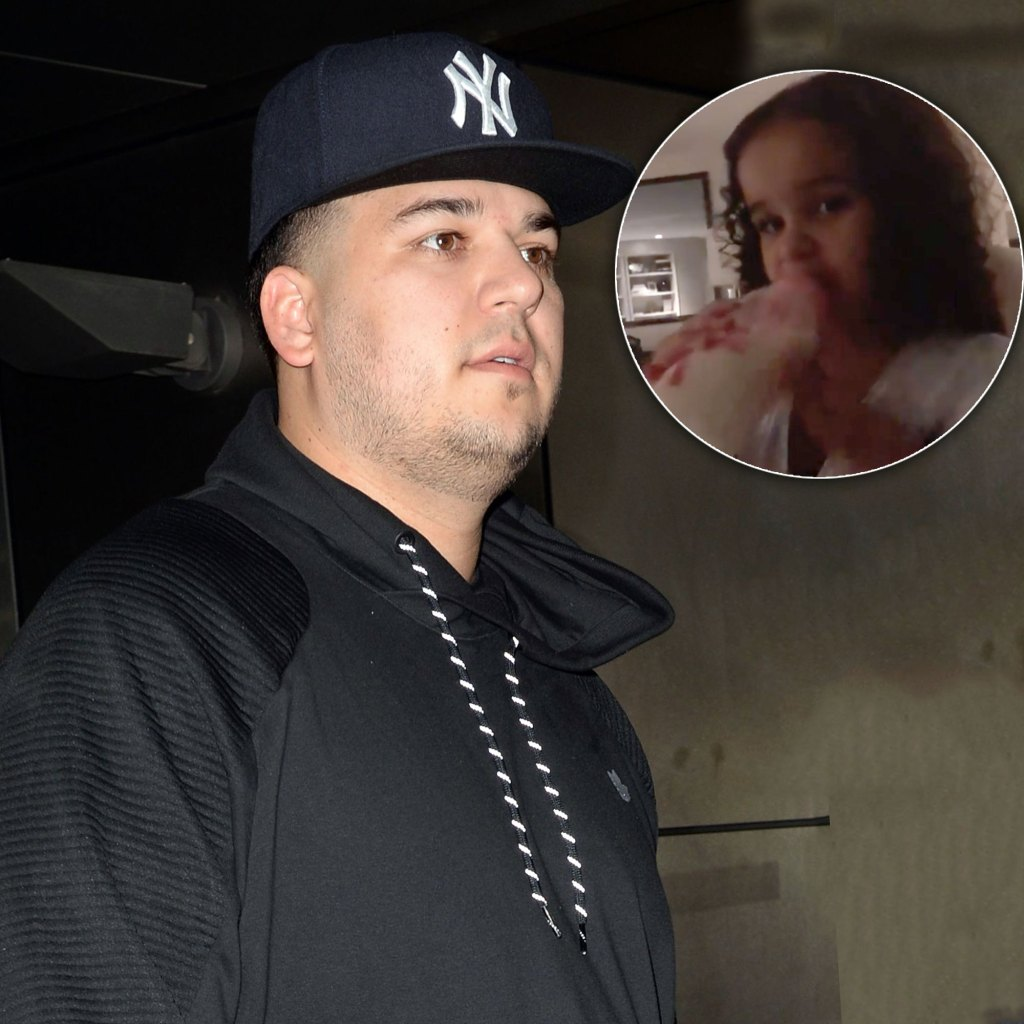 Parenting Police Take Aim at Rob Kardashian for Giving Daughter Dream, 3, a Bottle in Cute New Video