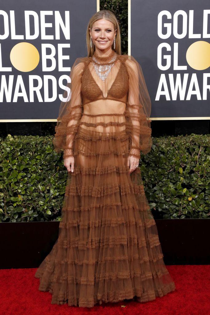 Gwyneth Paltrow Golden Globes 2020 Dress