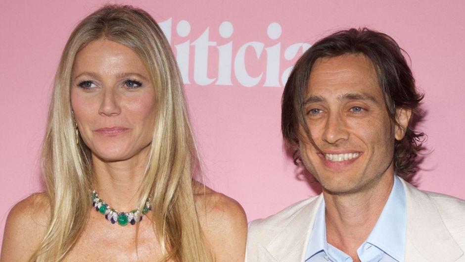 Gwyneth Paltrow and Brad Falchuk at the politician premiere