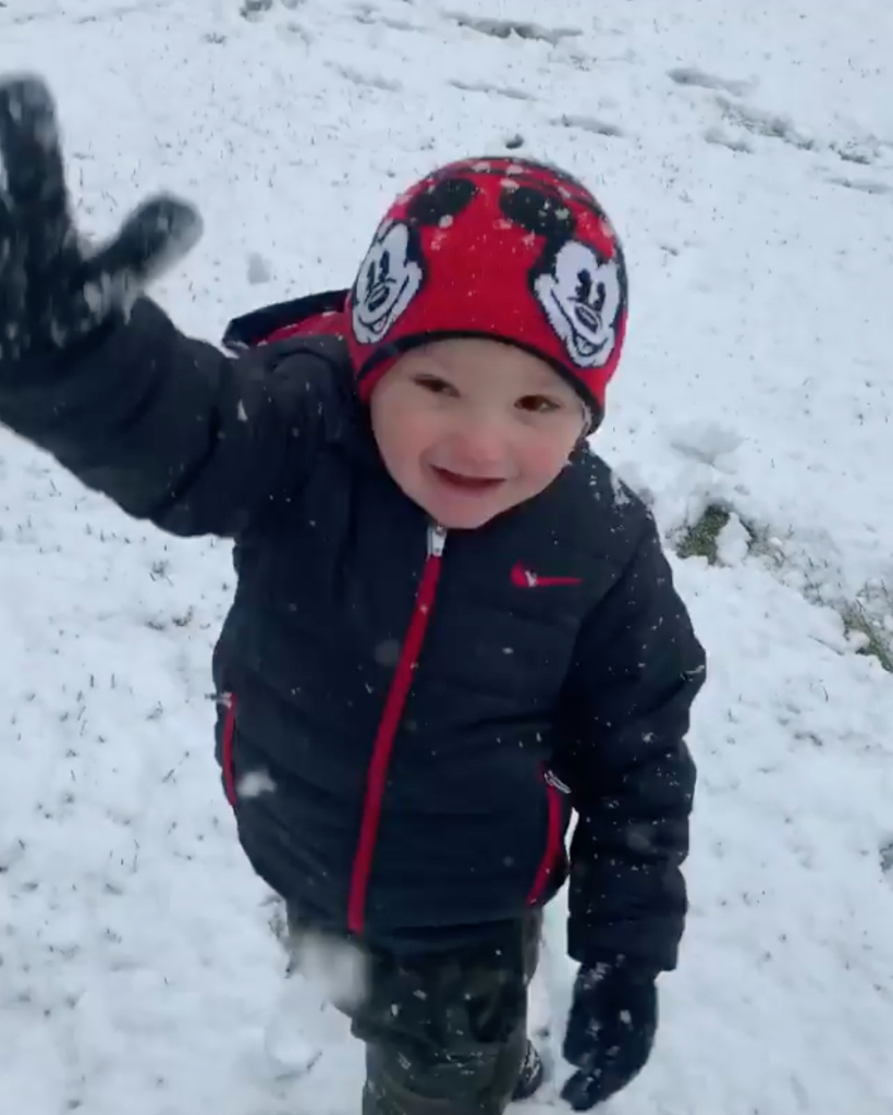 JWoww Says She 'Almost Fell Over' After Son Greyson Made an Adorable Comment About Snow: 'Angels!'